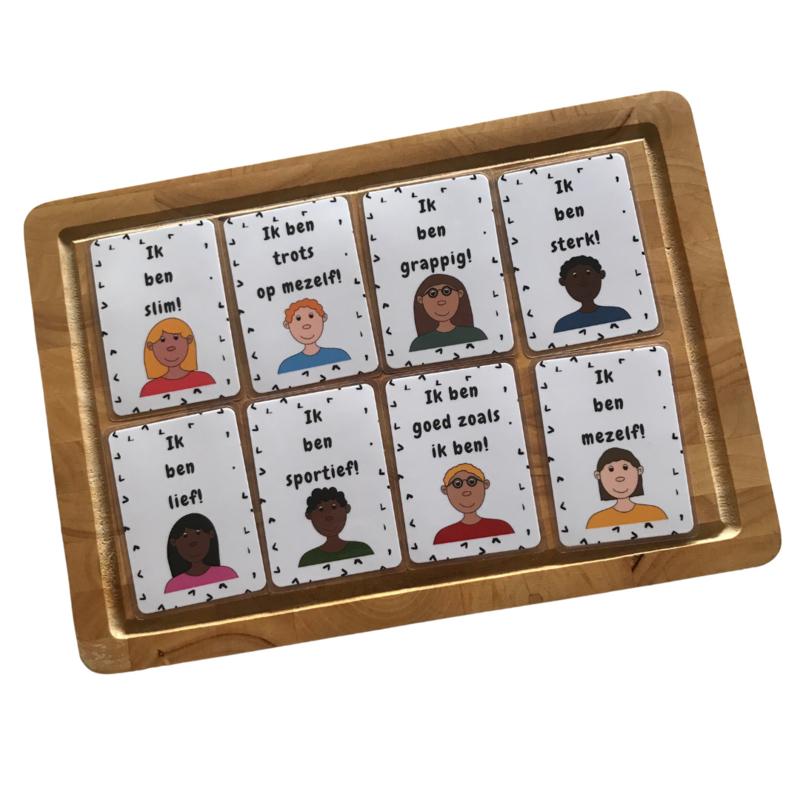 Affirmaties set 1 - Broodtrommelkaartjes