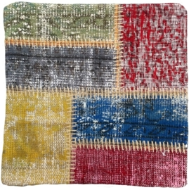 Carpet Patchwork Cushion Cover 0010  50x50cm