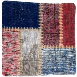 Carpet Patchwork Cushion Cover 0012 50x50cm