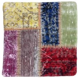 Carpet Patchwork Cushion Cover 0046 50x50cm