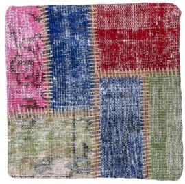 Carpet Patchwork Cushion Cover 0042 50x50cm