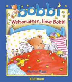 Welterusten, lieve Bobbi met knuffeldoek