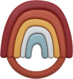 Siliconen Bijtring Regenboog (BPA-vrij) | Little Dutch