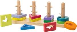 Jouéco Doolhof houten puzzel