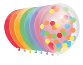 Ballonnen Regenboog | 10 stuks
