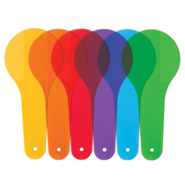 Gekleurde Experiment Glazen | Learning Resources | 18 dlg.