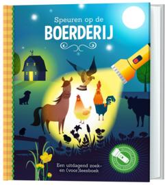 Speuren op de boerderij | Zaklamp boek