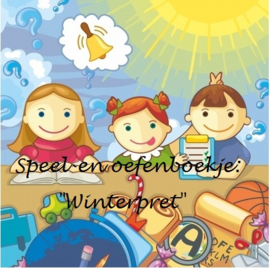 "Speel-en oefenboek ""Winterpret"""