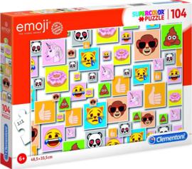 Puzzel Emoji Junior Karton | Clementoni  | 104 Stukjes