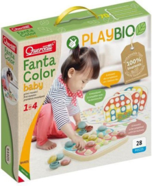 Bio Play FantaColor Baby insteekmozaïek | Quercetti | 28 dlg.