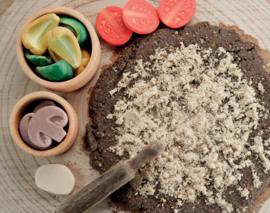 Pizza Toppings   Zintuiglijke Speel Stenen   Yellow Door   15 dlg.