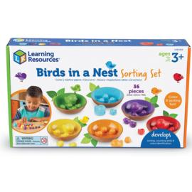 Vogels in een nestje Sorteer Set | Learning Resources | 36 dlg.