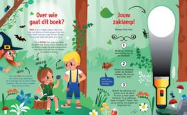Speuren naar Hans & Grietje | Zaklamp boek