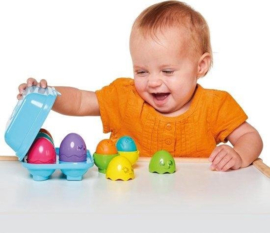 Tomy Bright Chicks Eieren