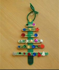 9x kerstboom