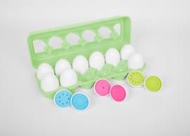Match Kleuren Eieren | TickiT | 12 dlg.