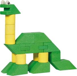 Houten Stapel Dinosaurus | 23 dlg.