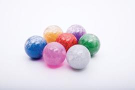 Regenboog Glitterballen Set 7 stuks TickiT