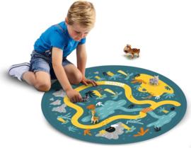 Safari speelmat met opbergmat/zak | SES | 6 dlg.