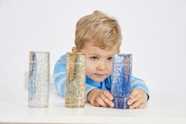 Sensory Glitterbuizen Set  3 stuks TickiT