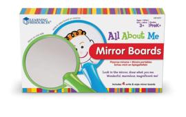 Alles over mij Dubbelzijdige spiegelborden   Learning Resources   4 dlg.