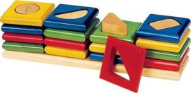 Sorteerspel kleuren en vormen