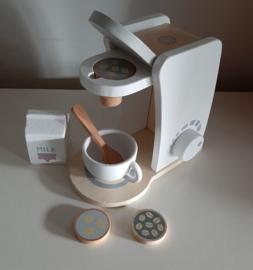 Houten Koffiezetapparaat | 7 dlg.