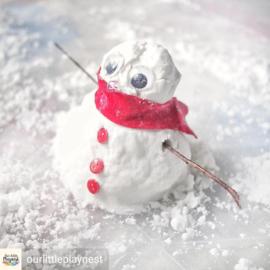 Zelf sneeuw maken deel 1