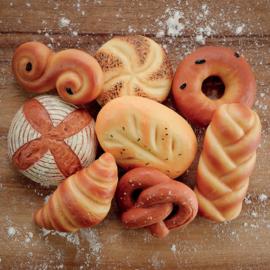 Brood van de wereld | Zintuiglijke Speel Stenen | Yellow Door | 8 dlg.