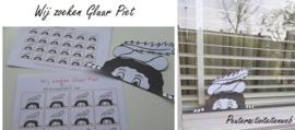 Wij zoeken Gluur Piet