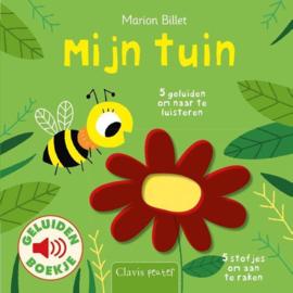 Geluidenboek: Mijn tuin 1+ | BoekStart Babyboekje van het Jaar-verkiezing 2020