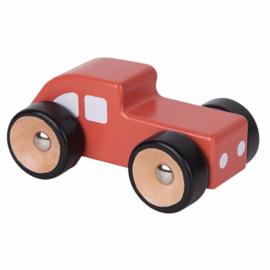 Houten Rode Auto| Playing Kids