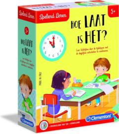 Clementoni Spelend Leren - Hoe laat is het?