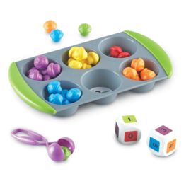 Mini Muffin Match & Reken | Learning Resources | 76 dlg.
