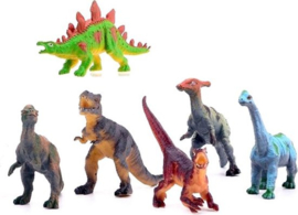 Dinosaurussen  Animal World  | 6dlg
