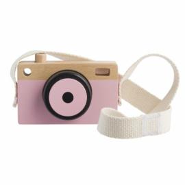 Houten Camera Roze | Playing Kids