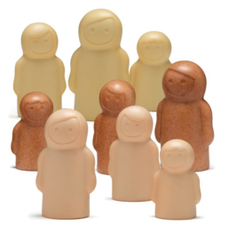 Little People | Zintuiglijk Spel | Yellow Door | 9 dlg.