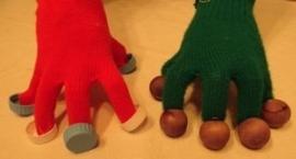 Ritmische handschoenen