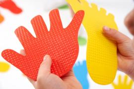 Handen-en Voeten tegels | EDX education TickiT | 12 dlg