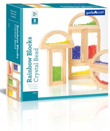 Regenboog Blokken Parels G3012| Guidecraft | 8 dlg.