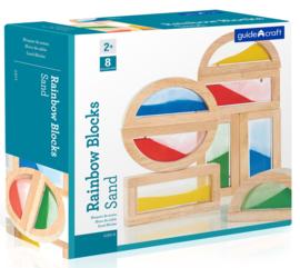 Regenboog Blokken Zand G3014 | Guidecraft | 8 dlg.
