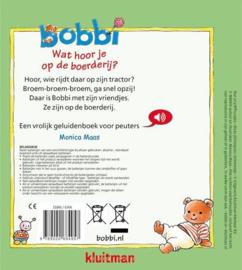 Bobbi wat hoor je op de boerderij? (geluidenboek)