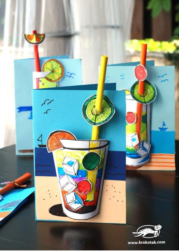 3D limonade glas