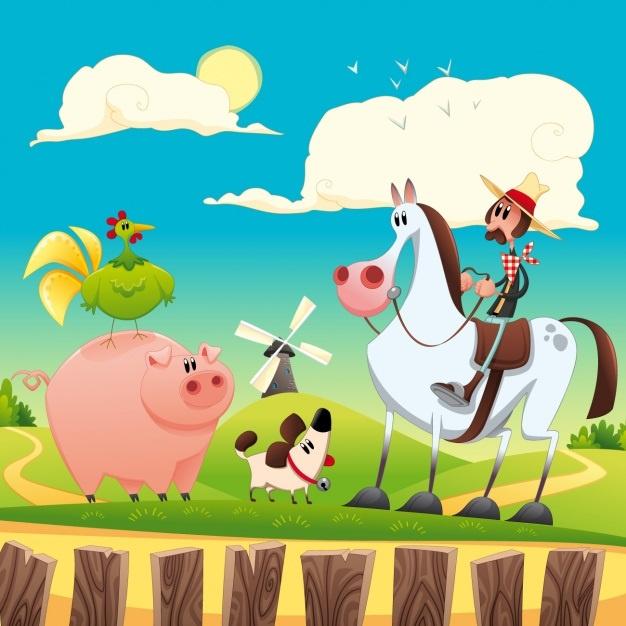 Thema op de boerderij | Met gratis BoerderijSpel