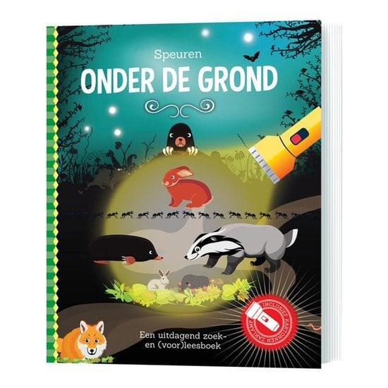 Speuren onder de grond | Zaklamp boek