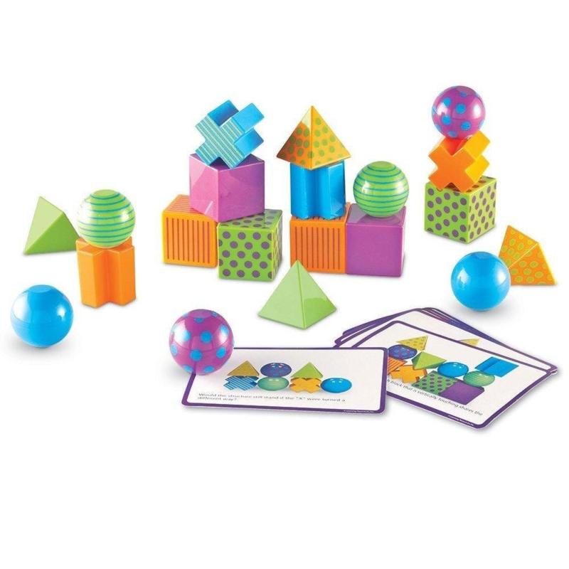Vormen incl. 40 Activiteitenkaarten   Learning Resources   60 dlg.