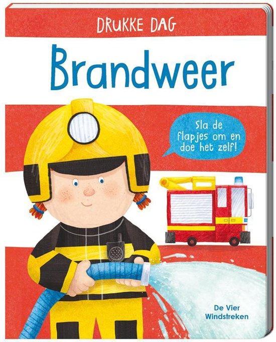 Drukke Dag - Brandweer met gratis woordkaarten  | Kinderboekenweek tip
