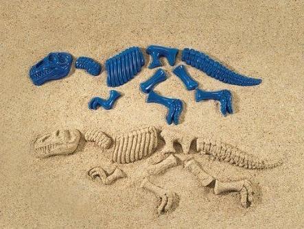 Zandvormen Dino (T-rex) maken |  10 dlg.