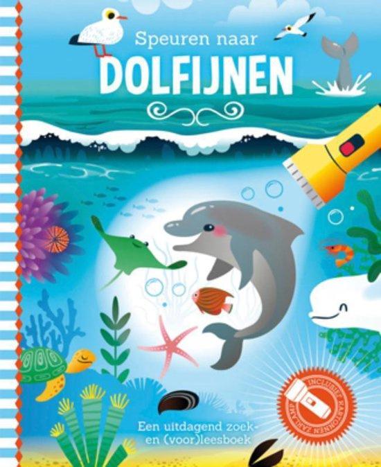 Speuren naar dolfijnen | Zaklamp boek
