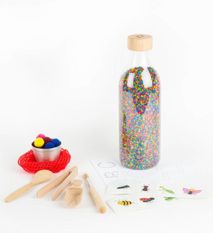 WAUW  | Ontdek Speel flesje | Sensory